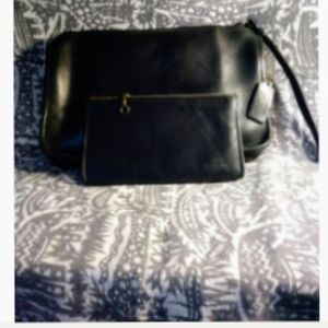 Coach bag clutch with slim wallet 70s